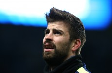 Gerard Pique fined €10k for hurling abuse and a parking ticket at policemen