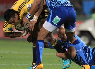 Julian Savea is just one of the Hurricanes' attacking torpedoes.