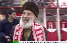 Spartak Moscow donate half a million rubles to 102-year-old fan