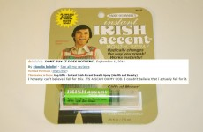These irate Amazon reviews for 'Irish accent mouth spray' are the best thing you'll read today