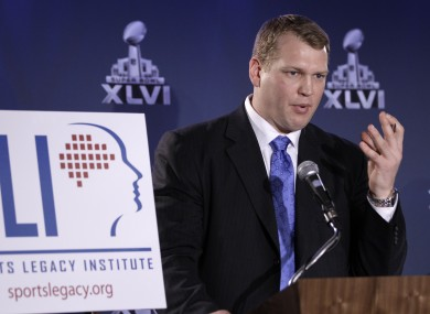 Chris Nowinski has long been campaigning to raise concussion awareness.