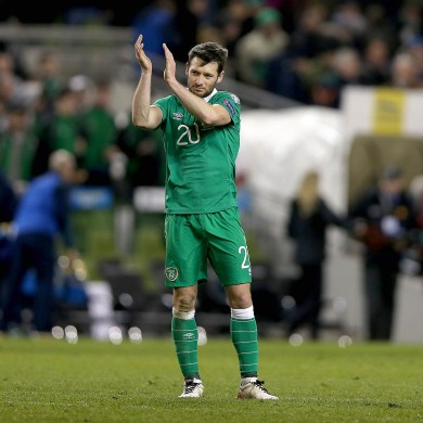 Wes Hoolahan produced an influential performance as Ireland drew with Poland last night.