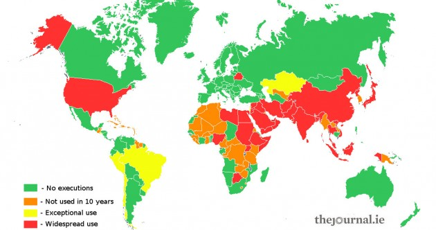 Which countries execute people? And how do they do it?