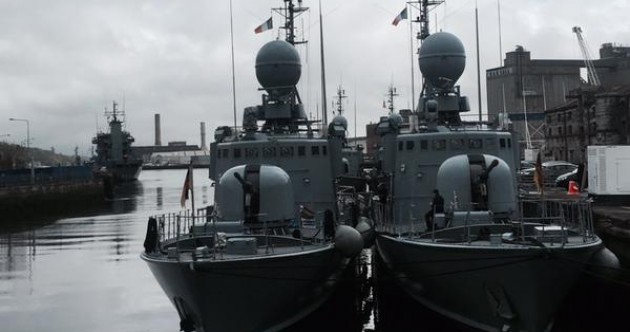 The German Navy is taking over Cork*