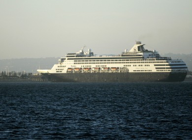 File photo of the MS Ryndam.