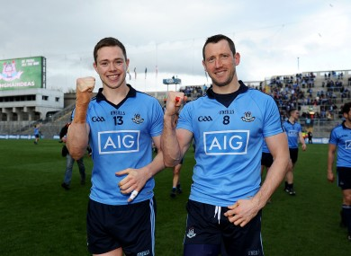 Rock, left, edged out Colm O'Neill in the top scorer charts.