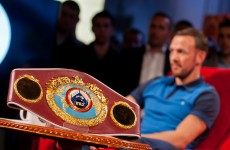 Andy Lee's first world title defence could be in a Premier League football stadium