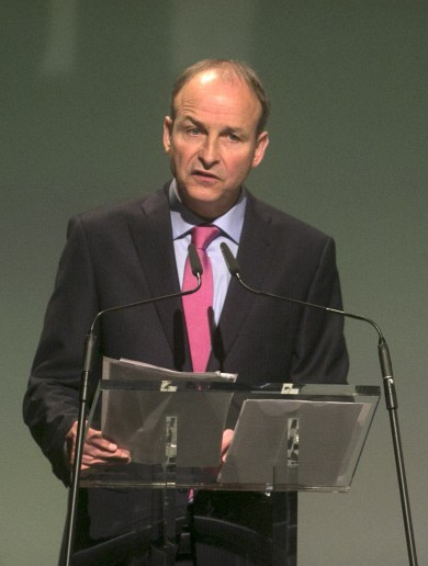 Micheál Martin: Enda thinks fist-pumps solve problems … but Gerry is even worse