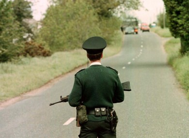 FILE: A member of the RUC in 1996.