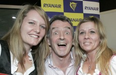 No wonder Michael O'Leary is smiling…