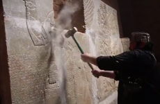 Islamic State video shows militants destroying ancient city of Nimrud
