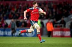 Dumbbells, tackle bags and books: A day in the life of Munster tyro Jack O'Donoghue