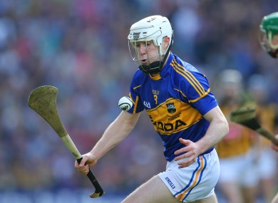 Michael Cahill in action in last year's All-Ireland senior hurling final.
