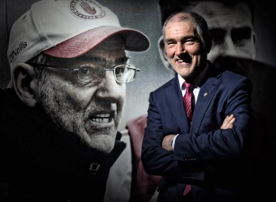 Mickey Harte's Tyrone were relegated from Division 1 of the Allianz Football League