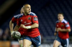 Rapping, running and chicken tikka: 10 things you didn't know about Simon Zebo