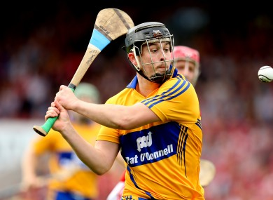Nicky O'Connell in action for Clare.