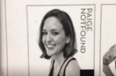 Rollergirl's player portrait contains one of the greatest sporting puns ever