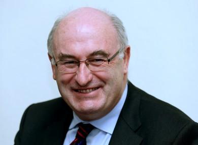 Former Environment Minister Phil Hogan