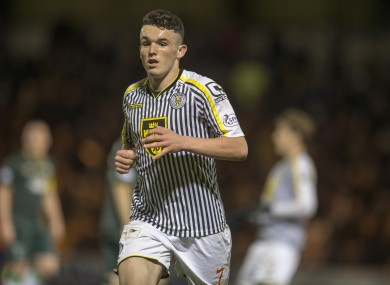 John McGinn will be out for three weeks with the injury.