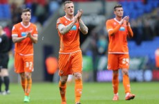 Blackpool relegated from the Championship with six games to go while Bournemouth go top