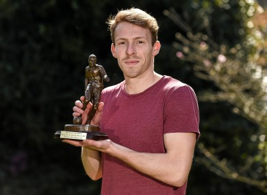 David McMillan has been named the SSE Airtricity/Soccer Writers' Association Player of the Month for March.
