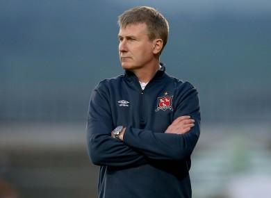 Dundalk FC manager Stephen Kenny.