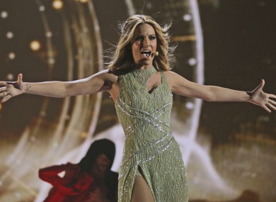 Edurne is representing Spain at this year's competition.