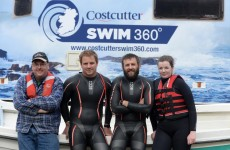 2 brave adventurers are attempting to swim the whole way around Ireland in under 4 months