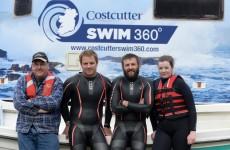 2 brave adventurers are attempting to swim the whole way around Ireland in under 4 months