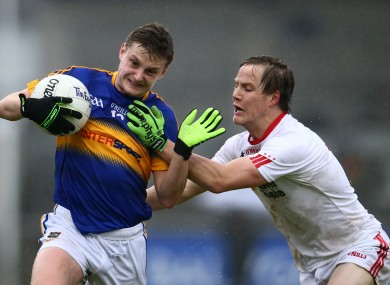 Tipperary's Jason Lonergan in action against Tyrone.