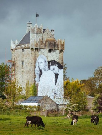 """It's not just a single sex referendum"": The inside story of the Galway castle mural"