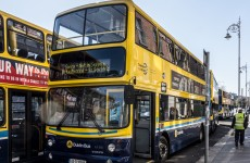 A Dublin bus has turned away a wheelchair-user…