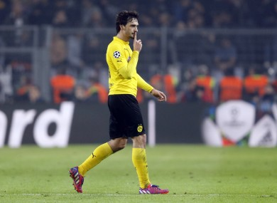 Hummels has been on United's radar for some time now.