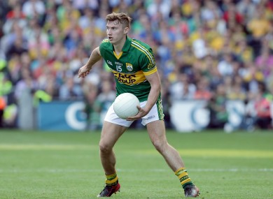 Kerry's James O'Donoghue.