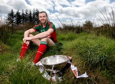 Mayo football captain Keith Higgins.