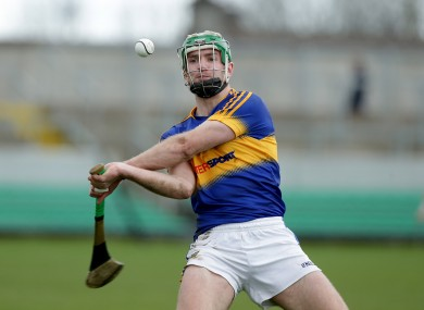 Noel McGrath pictured in action in this year's league quarter-final against Offaly.