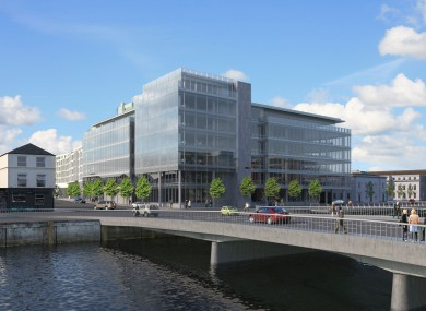 An artist's impression of One Albert Quay in Cork