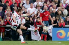 Ulster's Jackson passes 'nerve-wracking' kicking test in front of Schmidt