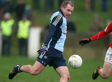 Pat Burke in action for Dublin in the O'Byrne Cup in 2013.