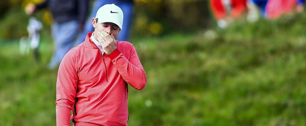 McIlroy: a morning to forget.