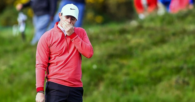 Rory McIlroy had an absolute nightmare at the Irish Open