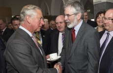 That handshake was a publicity coup for Sinn Fein – why were the opposition missing in action?