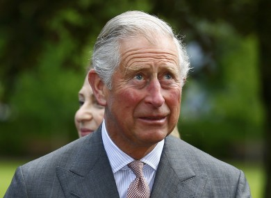 Prince Charles spoke to Galway boss Anthony Cunningham.