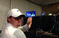 McIlroy's late finish meant he missed a trip to Las Vegas but his tickets didn't go to waste