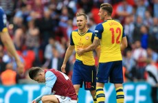 Arsenal run riot as they record biggest winning margin in an FA Cup final for 21 years