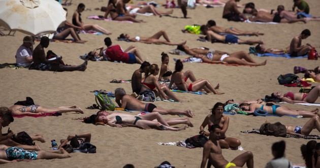 Get jealous – a heatwave in Spain and Portugal just reached 43 degrees