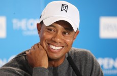 Tiger Woods has written a letter of support to a fellow stutterer