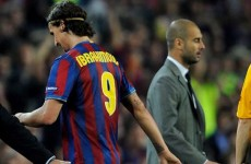 'Ibra will punch Pep Guardiola one of these days' — recalls Barca president