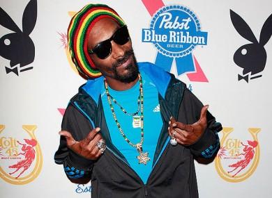 Snoop Dogg was a brand ambassador for Colt 45's Blast.