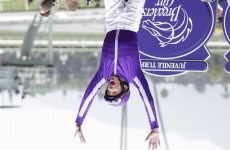 Frankie Dettori was once dangled upside down from a 3-storey balcony by The Crazy Gang